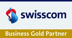 Swisscom Business Gold Partner logo